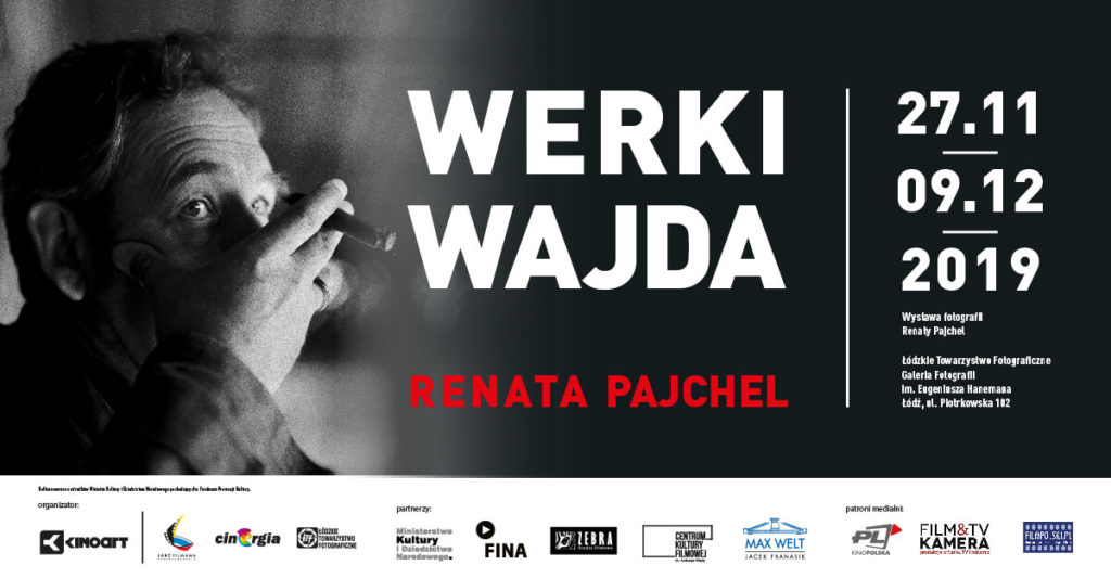 """Wystawa """"WERKI. WAJDA. Renata Pajchel"""""""