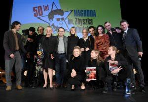 Foto relacja zGali wręczenia Nagrody im.Zbyszka Cybulskiego 2019